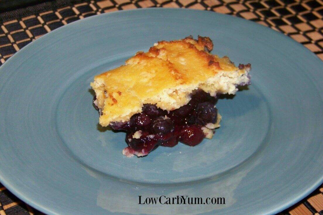 Paleo berry cobbler blueberry dessert