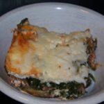 No Noodle Spinach Meat Lasagna