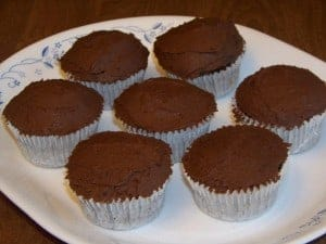 Gluten and Sugar Free Chocolate Cupcakes