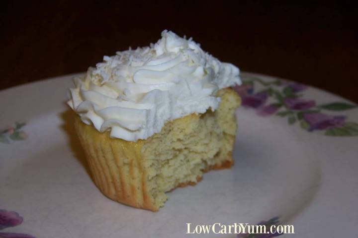 Coconut flour cupcakes recipe
