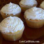 Coconut flour cupcakes recipe