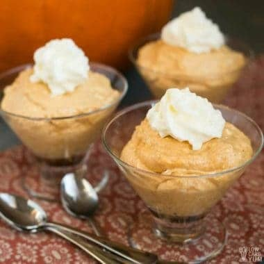 Pumpkin Mousse Recipe – Low Carb, Sugar Free