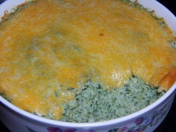 Low Carb Mashed Cauliflower with Spinach
