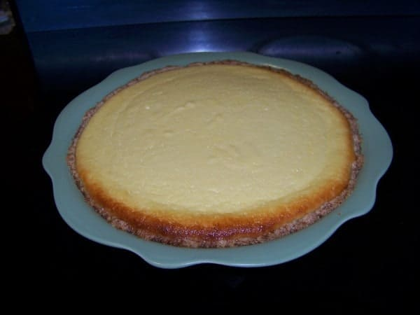Sweet Ricotta Cheese Pie | Low Carb Yum