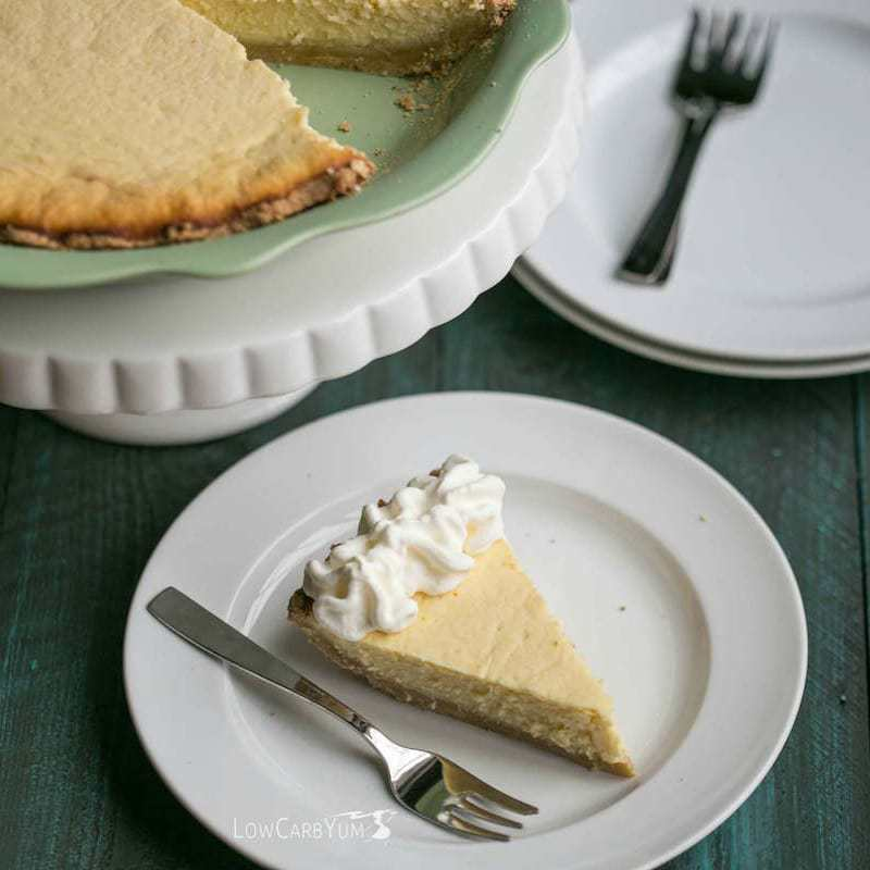 Sweet Ricotta Cheese Pie - Gluten Free | Low Carb Yum