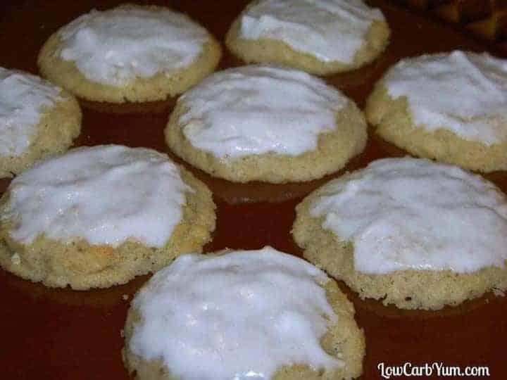 Gluten free almond ricotta cookies recipe