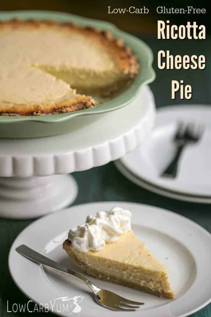 ricotta cheese pie recipe