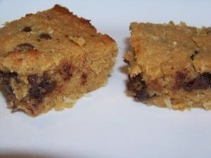 Sugar Free Low Carb Chocolate Chip Coconut Bars