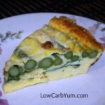 Crustless Asparagus Quiche – Gluten Free