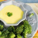 Easy to make low carb creamy cheese sauce