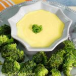 Creamy Low Carb Cheese Sauce for a LCHF Diet