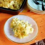 Low carb macaroni and cheese featured