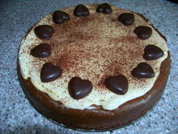 Coffee chocolate mocha cheesecake recipe