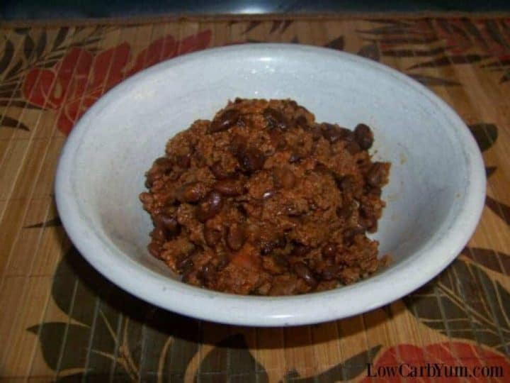 Low carb baked beans