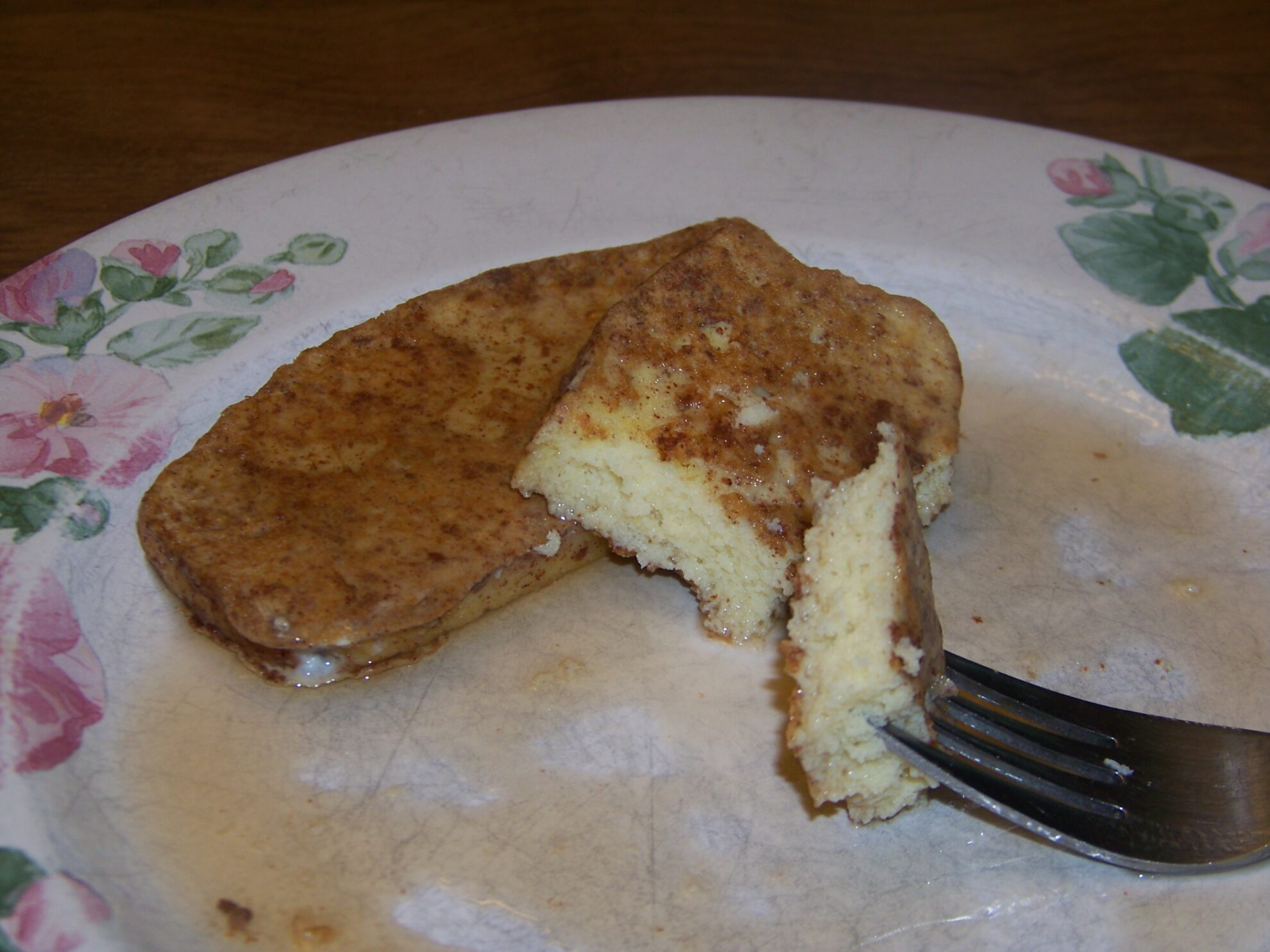 Low Carb French Toast with Cinnamon - Gluten Free | Low Carb Yum