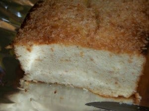 Low Carb Key Lime Coconut Bread