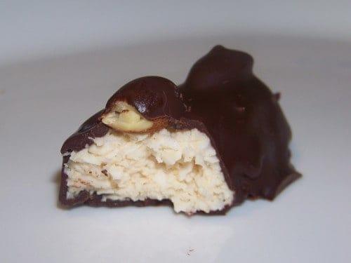 Low Carb Almond Joy Candy Bar