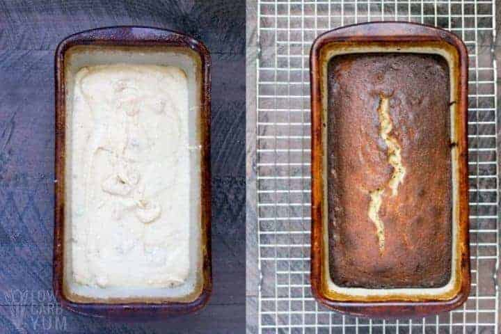 baking banana bread