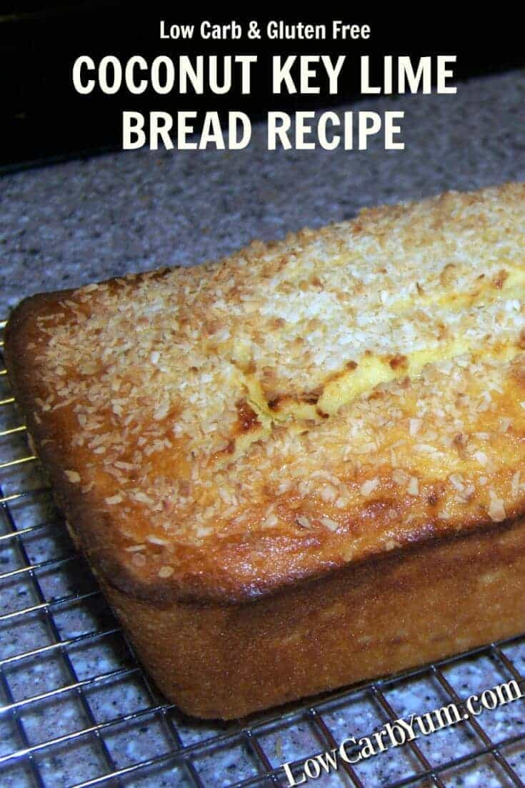 This coconut key lime bread recipe turned out to be moist and flavorful without being undercooked. The flavor combination does not disappoint