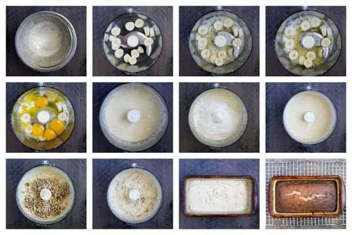Keto ricetta con pane di banana a basso contenuto di carboidrati