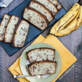 Simple Low Carb Banana Bread Recipe – Gluten Free