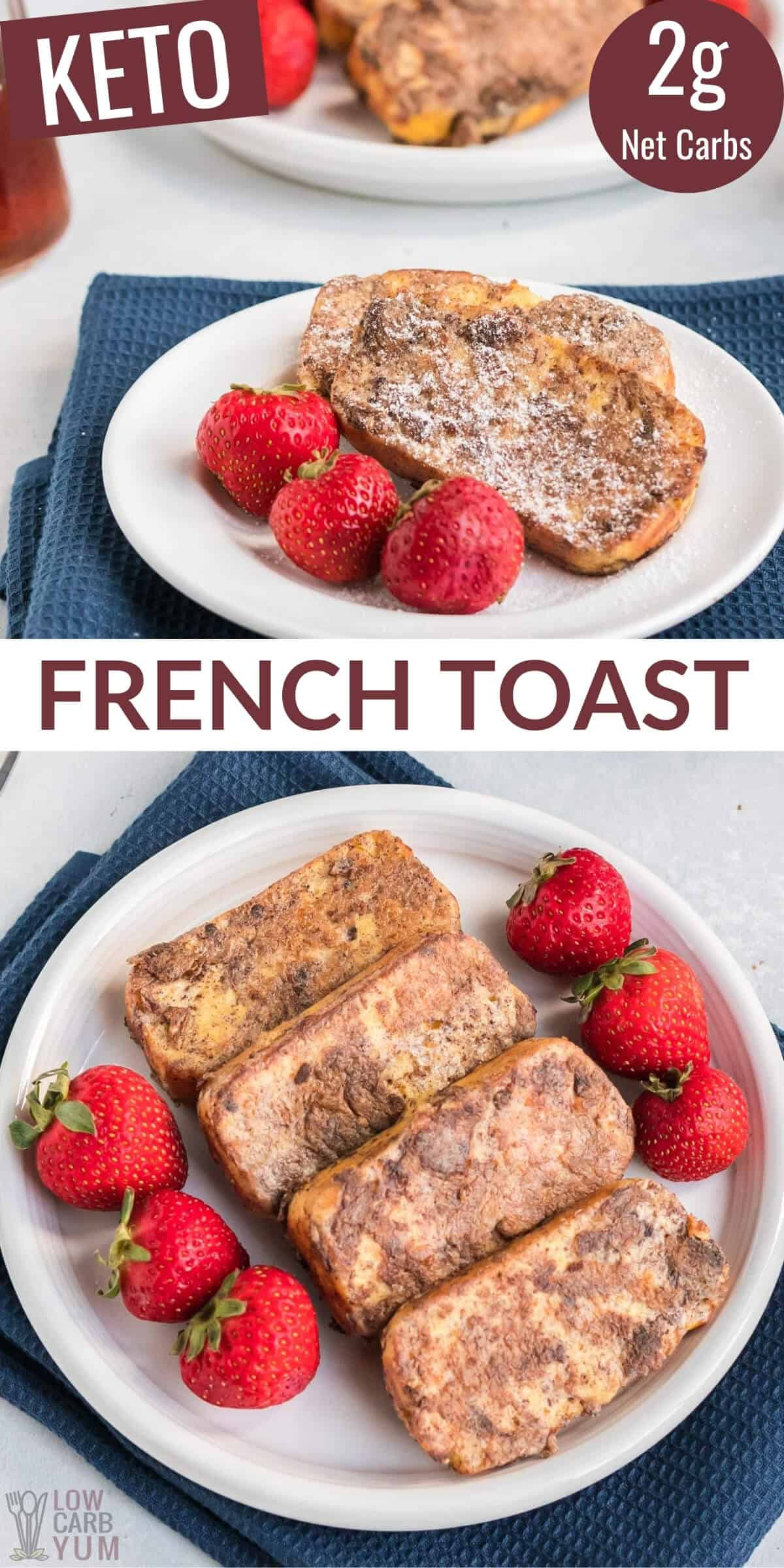 low-carb keto french toast recipe