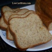 Low carb yeast bread machine recipe