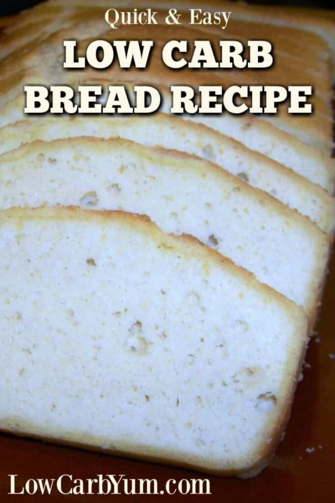 Quick keto low carb bread recipe gluten free low carb yum for Quick and easy low carb dinner recipes
