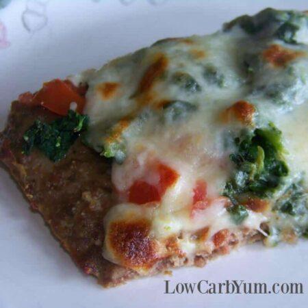 Meatza Pizza Paleo