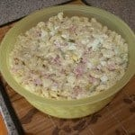low carb ham and cheese macaroni salad
