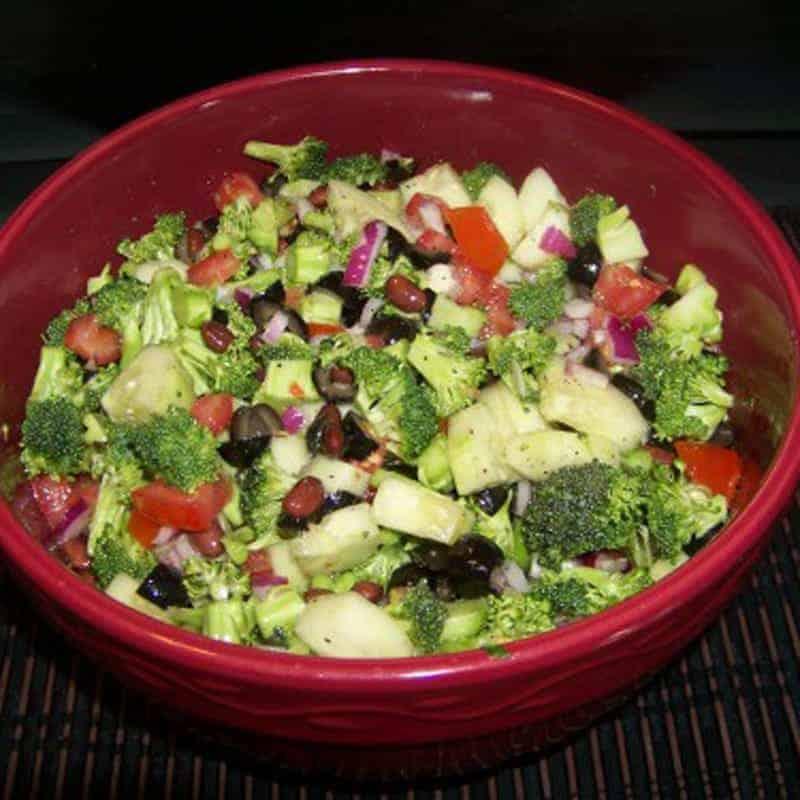 Colorful Broccoli Salad Low Carb Yum