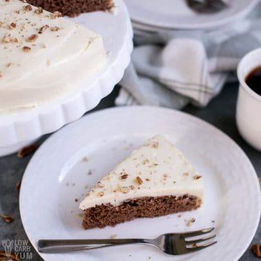 Sugar Free Gluten Free Red Velvet Cake