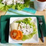 Low carb chicken salad - gluten free