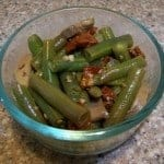 low carb green bean sun dried tomato