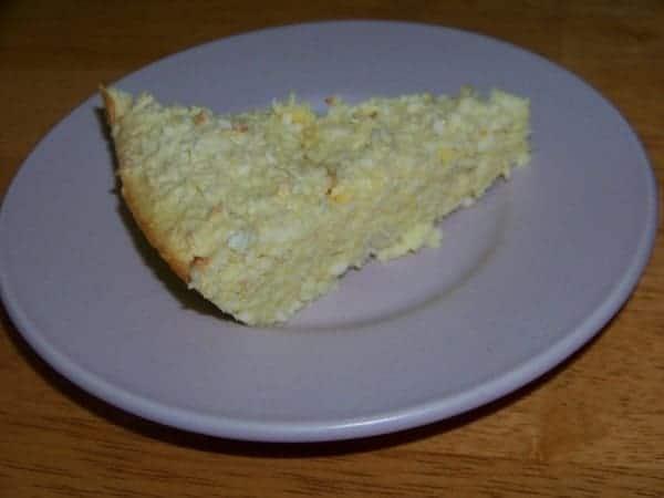Coconut Summer Squash Pie