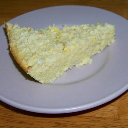 Coconut Summer Squash Pie