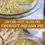 Coconut Yellow Squash Pie Recipe