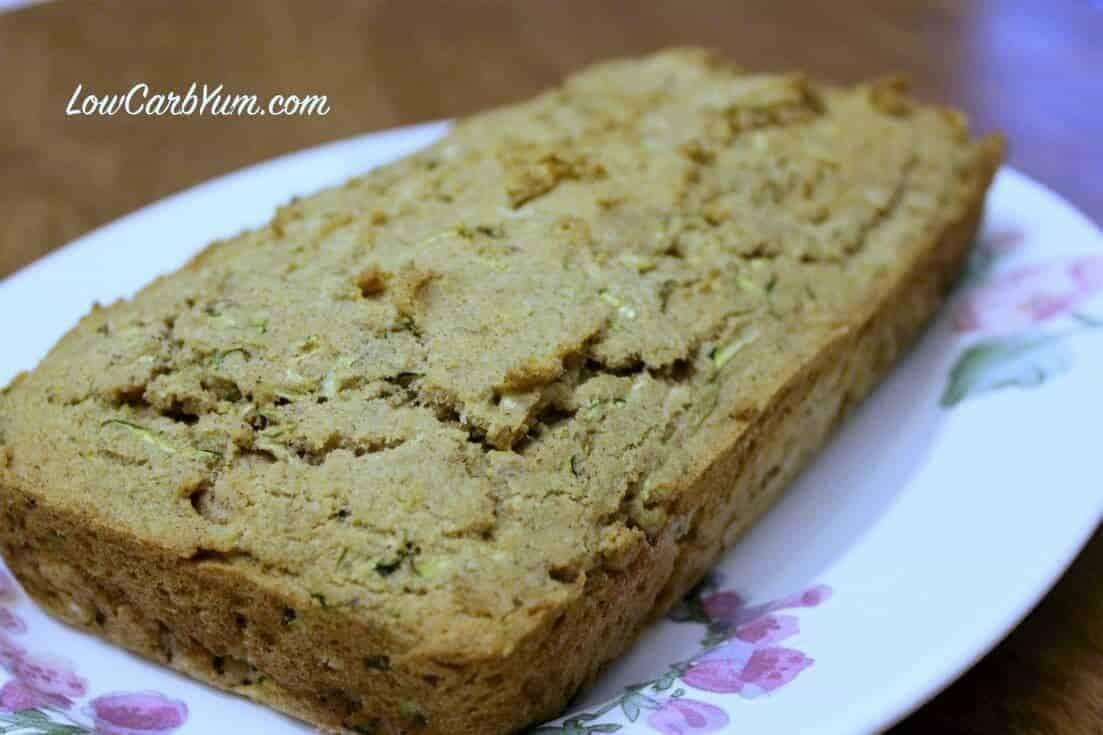 Low carb zucchini bread