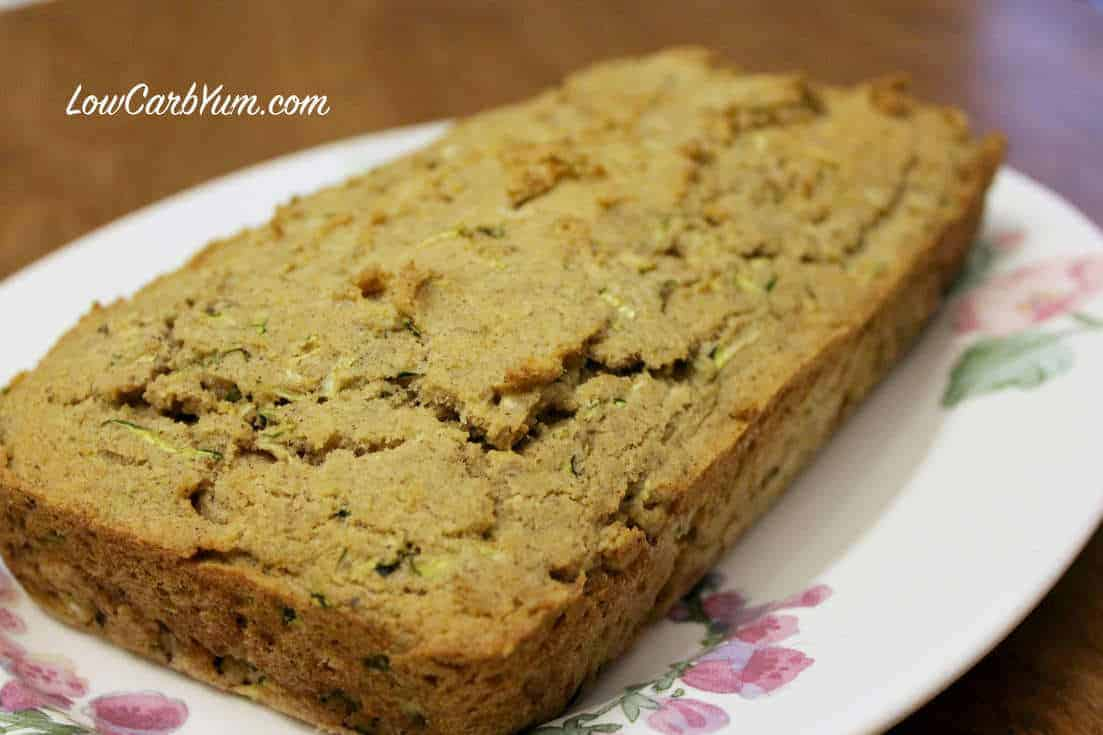 Are you still looking for the perfect low carb zucchini bread? Look no further. This recipe beats all the other ones I've tried and it's gluten free!
