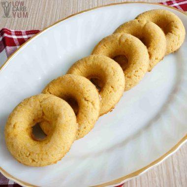 Sugar-Free Gluten-Free Donuts