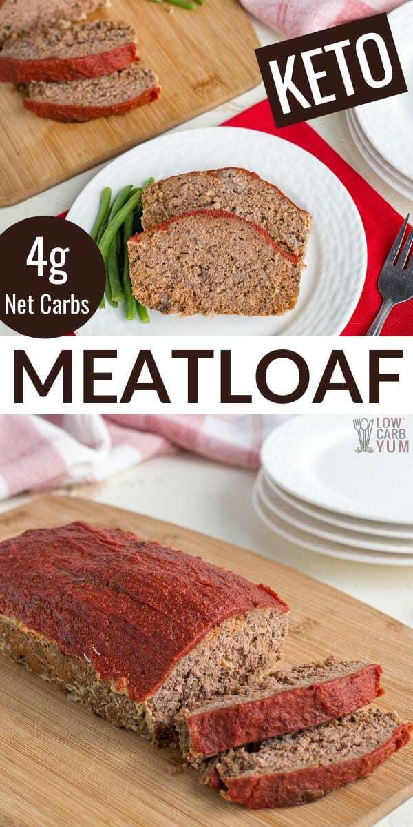 low carb keto meatloaf