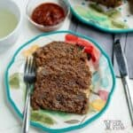 Simple keto low carb meatloaf recipe