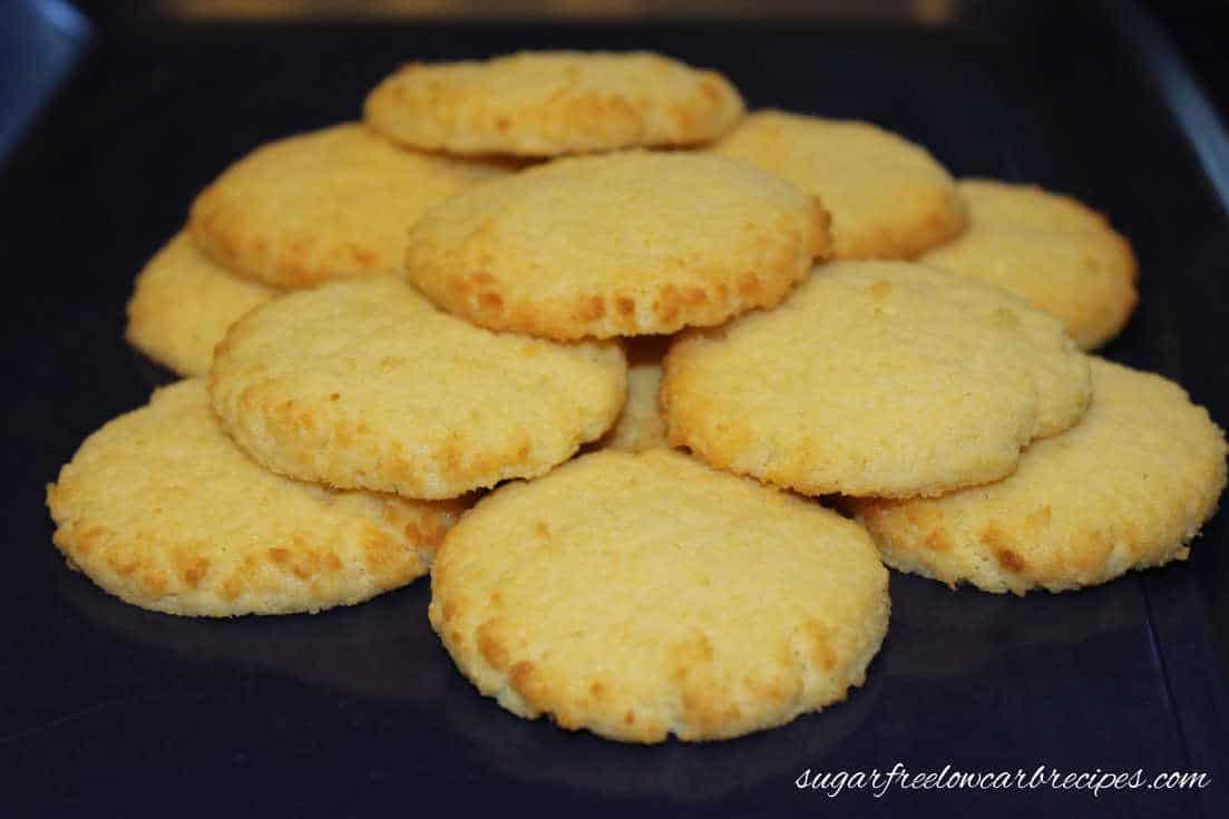 Basic Coconut Flour Cookies | Low Carb Yum