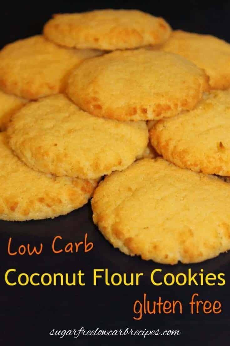 Gluten free coconut flour cookies
