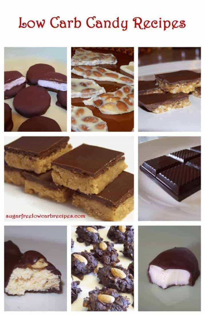 Easy low carb candy recipes