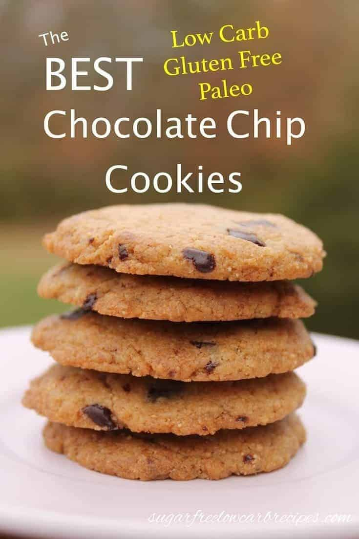 flourless chocolate chip cookies