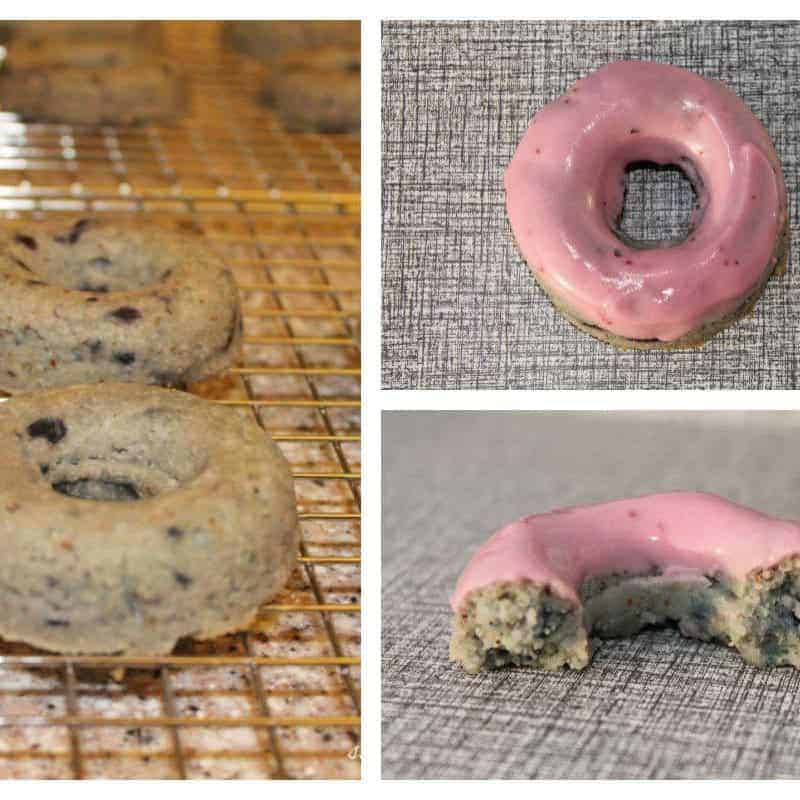 Blueberry Cake Donut Recipe – Low Carb Gluten Free