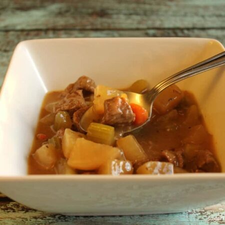 Easy Beef Stew with Daikon