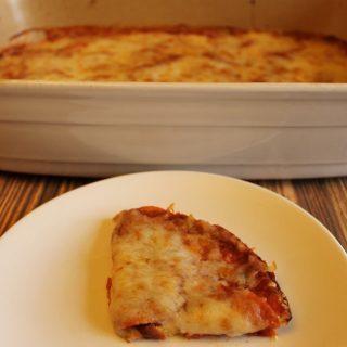 Pizza Casserole – Gluten Free