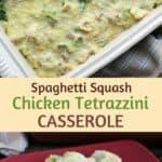 Easy chicken tetrazzini casserole recipe